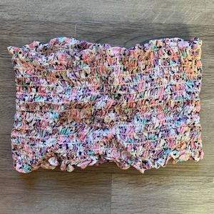 LF Floral Tube Top